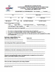 MSUSBC Youth Director Application
